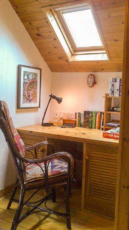 Mini Büro in der Schmiede