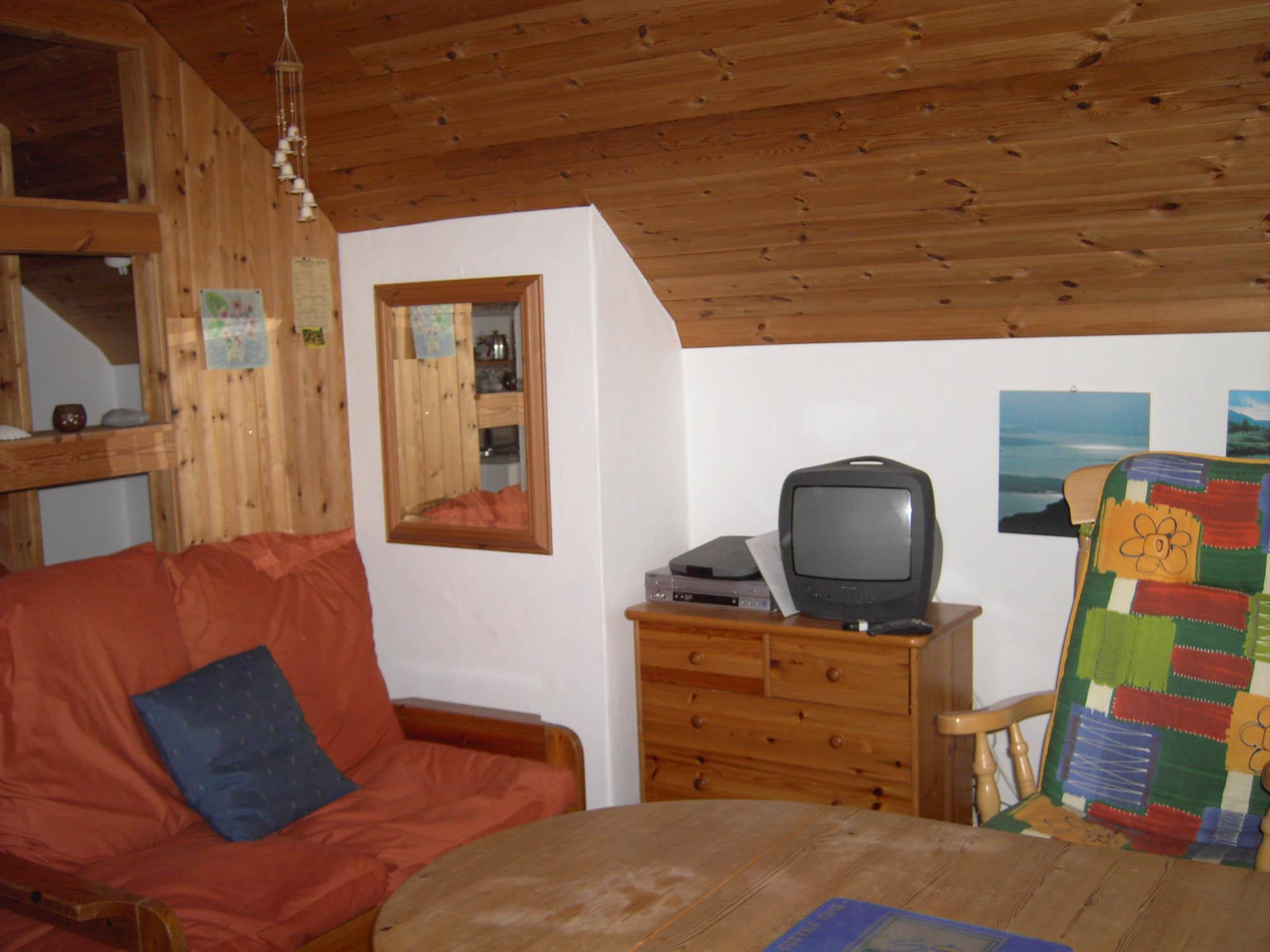 Der Wohnraum der Schmiede.